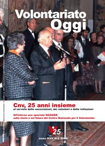 Volontariato Oggi - rivista quadrimestrale - n. 2 - 2009 (Copertina)