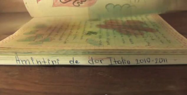 Una scena del video documentario sulla Tratta
