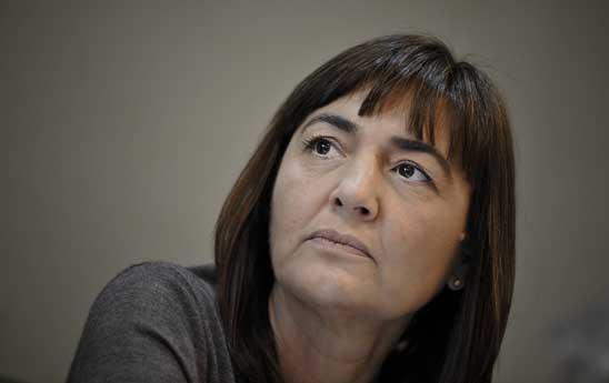 Il presidente della Regione Lazio Renata Polverini