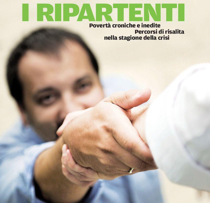 La copertina del nuovo rapporto Caritas sulla povertà