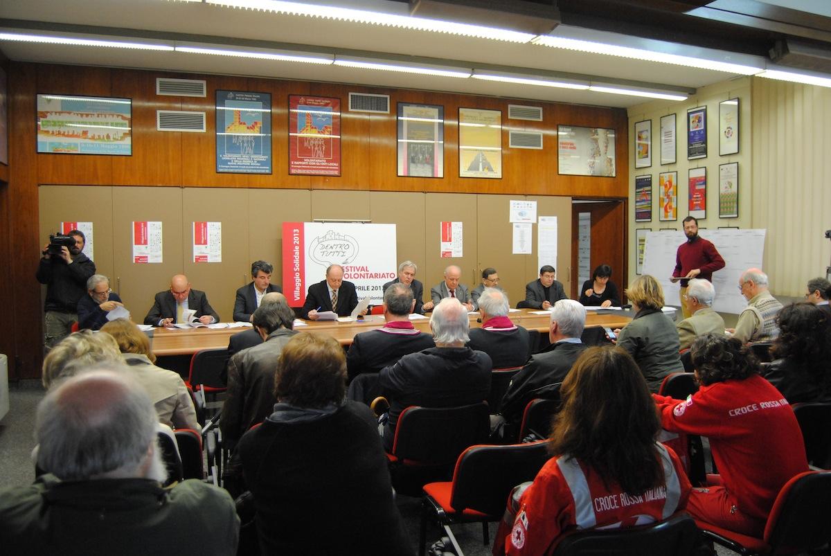 La conferenza stampa di presentazione del Festival del Volontariato
