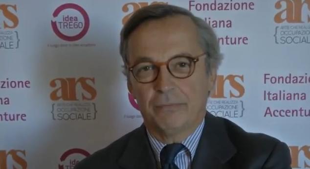 Il presidente della Fondazione Accenture Diego Visconti (ph. vita.it)