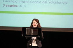 Lettura del messaggio s #Giv2013 - ph. Andrea Cardoni