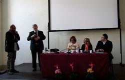 Gianluca Testa, Giuliano Poletti, Giovanna Rossiello, Natascia Festa, Luca Calzolari