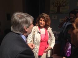 Silvia Costa al Festival del volontariato insieme al ministro Poletti