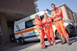 Volontari del trasporto sanitario delle Pubbliche Assistenze