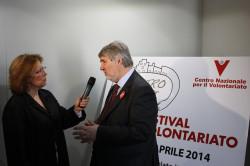 Rossiello e Poletti al Festival del volontariato
