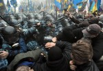Anti-government protest in Ukraine