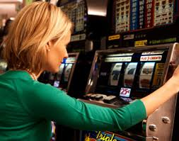 Una giocatrice d'azzardo