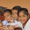Alcuni bambini della scuola materna