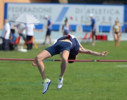 Un atleta in campo