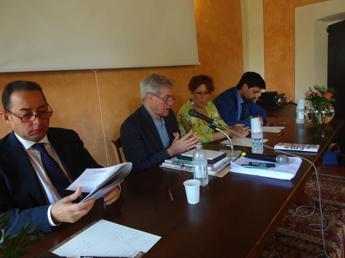 Pittella, Patriarca, Rossiello, Mattiucci