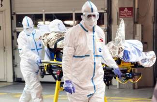 Ebola patient in Switzerland