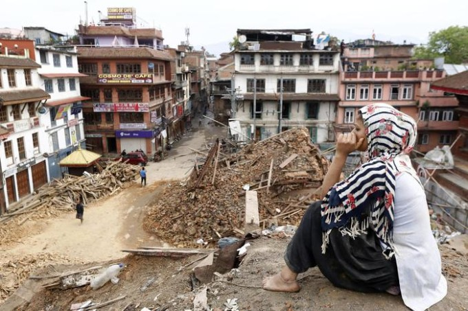 Earthquake aftermath in Nepal