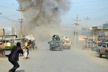 Afghan police station repels Taliban attack