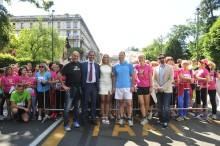 Assessore sport_Antonio Rossi, Presidente Avon Italia_Ossola, Annalisa Minetti
