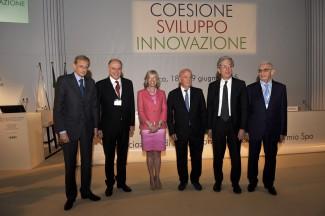 Da sinistra, Fassino, Tambellini, Giannini, Lattanzi, Morando e Guzzetti