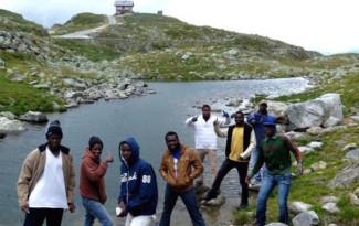 Gita in montagna in Alto Adige per profughi