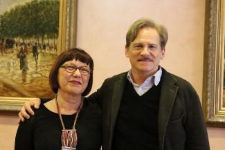 Giulio Scarpati e Loredana Ligabue