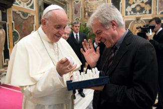 Papa + Patriarca udienza 2 ottobre