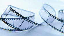 Blank Celluloid Film --- Image by © Andrew Brookes/Corbis