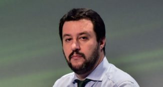 Italian Lega Nord (Northern League) Secretary, Matteo Salvini attends the first ENF (Europe of  Nations and Freedom) congress in Milan on January 28 , 2016.  / AFP / GIUSEPPE CACACE        (Photo credit should read GIUSEPPE CACACE/AFP/Getty Images)