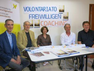 presentazione Coaching nel Volontariato Belluno Bolzano da sinistra Nevio Meneguz e Paolo Capraro